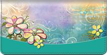 Pretty Petals Checkbook Cover