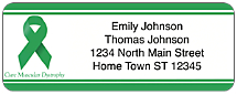 Muscular Dystrophy Awareness Return Address Label