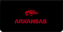 University of Arkansas Checkbook Cover