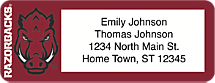 University of Arkansas Return Address Label