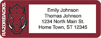 University of Arkansas Return Address Label