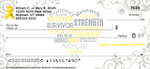 Spina Bifida Awareness Personal Checks