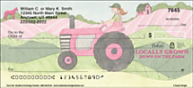 Farm Girl Personal Checks