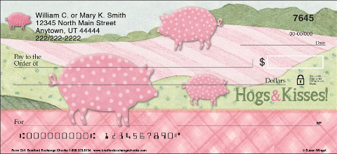 Farm Girl Personal Checks
