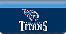 Tennessee Titans NFL Checkbook Cover