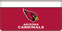 Arizona Cardinals NFL Checkbook Cover