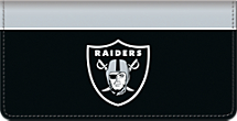 Oakland Raiders NFL Checkbook Cover