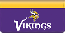 Minnesota Vikings NFL Checkbook Cover