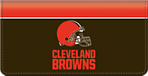 Cleveland Browns NFL Checkbook Cover