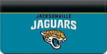 Jacksonville Jaguars NFL Checkbook Cover