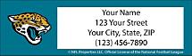 Jacksonville Jaguars NFL Return Address Label