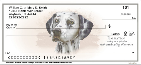 Best Breeds Dalmatian Personal Checks