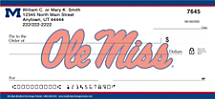 Ole Miss Personal Checks