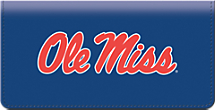 Ole Miss Checkbook Cover