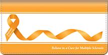 Multiple Sclerosis Checkbook Cover