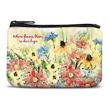 Travel Light and Keep Your Outlook Bright with a Mini-Bag in Full Bloom with Fresh Floral Art