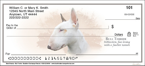 Best Breeds - Bull Terrier Personal Checks