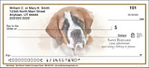 Best Breeds - Saint Bernard Personal Checks