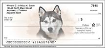 Best Breeds - Siberian Husky Personal Checks
