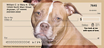 Faithful Friends - Pit Bull Personal Checks