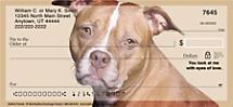 Faithful Friends - Pit Bull Personal Checks