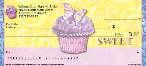 Cupcakes Personal Checks