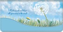 Make a Wish Checkbook Cover