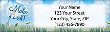 Make a Wish Return Address Label