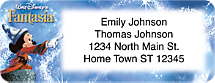 Fantasia Return Address Label