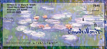 Monet: Nature Personal Checks