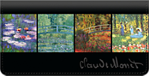 Monet: Nature Checkbook Cover
