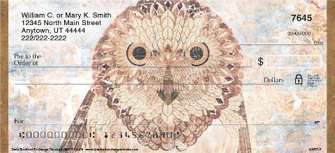 Owls Personal Checks