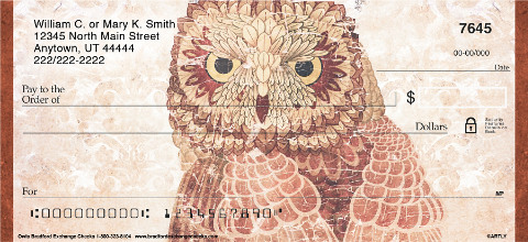 Owls Personal Checks