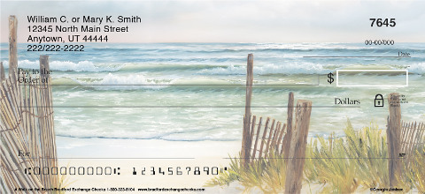 A Walk on the Beach Personal Checks