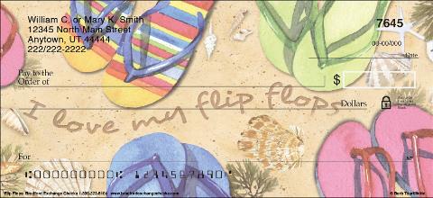 Flip Flops Personal Checks