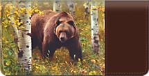 Bears Checkbook Cover