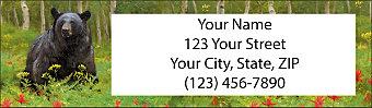Bears Return Address Label