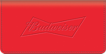 Budweiser Checkbook Cover