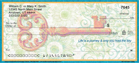 Keys of Life Personal Checks