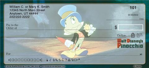 Pinocchio Personal Checks