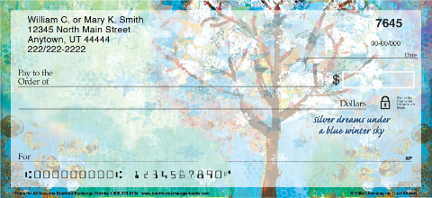 Trees for all Seasons Personal Checks