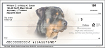 Best Breeds - Rottweiler Personal Check Designs