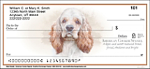 Best Breeds - Cocker Spaniel Personal Check Designs