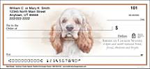Best Breeds - Cocker Spaniel Personal Check Designs