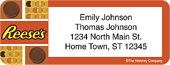 Reese's Return Address Label