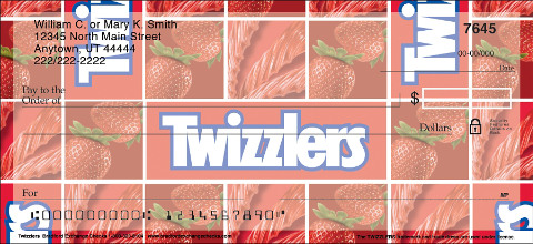 Twizzlers Personal Checks