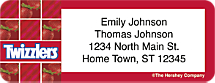 Twizzlers Return Address Label