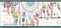 Dreamcatchers Personal Checks