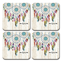 Celebrate Native American Spirit Every Day with Dreamcatcher Coasters