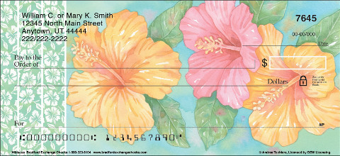 Hibiscus Personal Checks